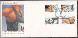 NUEVA ZELANDA 1992 Nº 1164/67 USAD0 - Nueva Zelanda