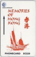 SAINT LUCIA - MEMORIES OF HONG KONG - 311CSLA - Saint Lucia