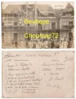1011, Somme, Villers Aux Erables, Carte Photo, Le Château De Villers Aux Erables, Datée De 1909, Construction Ou Refecti - Autres Communes