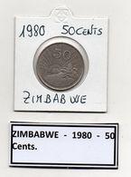 Zimbabwe - 1980 - 50 Cents - Vedi Foto - (MW474) - Zimbabwe