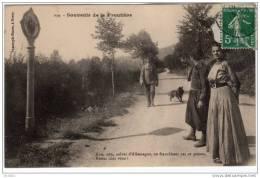 """Souvenir De La Frontière """"""""Non,non,soldat D'Allemagne,ne Franchissez Pas Ce Poteau,restez Chez Vous"""""""" - Dogana"""