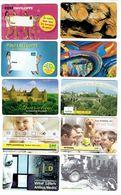 LUXEMBOURG, 10 Telecartes ( 5x120u Et 5x50u),vides, Bonne Qualitée - Phonecards