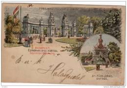 BUDAPEST ENTRÉE PRINCIPALE Exposition Millenaire - Hongrie