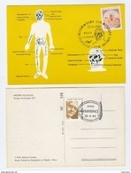 1984 ITALY Museum PREHISTORIC MAN EVENT COVER Postcard Prehistory Stamps SAN MARINO - Museum