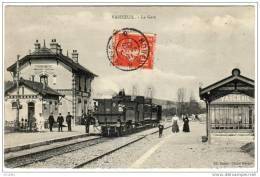 VASCOEUIL  La Gare  Edition Boitel  Cliché Mercier - France
