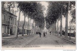LE MANS  L'Avenue De Pontlieue  Edition N G - Le Mans