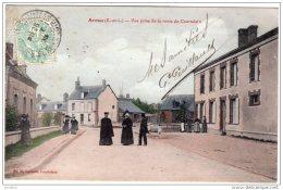 Arrou  Vue Prise De La Route De Courtalain    Ed  H Lecomte,Courtalain - France