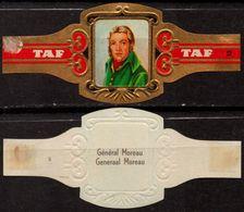 GENERAL Moreau  Soldier Napoleon - Belgium Belgique - TAF - CIGAR CIGARS Label Vignette - Etiquettes