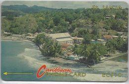 SAINT LUCIA - COASTLINE NO LOGO - 6CSLA - Saint Lucia
