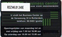Telefoonkaart  LANDIS&GYR  NEDERLAND * RDZ.146.01  248E * Business Center Rotterdam * Pays Bas * TK *  ONGEBRUIKT *  - Nederland