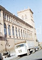 1967 CAMION PEGASO COMET SORIA ESPANA SPAIN 18mm DIAPOSITIVE AMATEUR SLIDE Not PHOTO FOTO B2641 - Dias