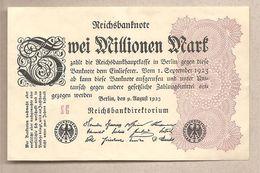 Germania - Banconota Non Circolata FdS Da 2.000.000 Marchi - 1923 - 2 Millionen Mark