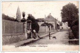 ACHÉRES La Rue Carnot - Acheres