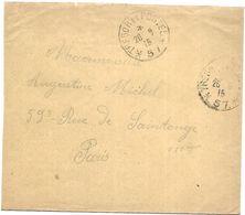 CM 70  Correspondance Militaire Du 26-09-15 Cachet Trésor Et Postes Simple Cercle N°(SP)57 58ème Division D'Infanterie - Marcofilie (Brieven)