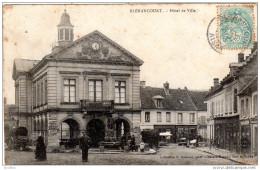 BLÉRANCOURT  Hotel De Ville  E Boisnier Collection Photo Maison Dupont Vins Et Tabac - France