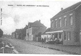 """Schilde, """"hotel De Lindekens"""" En Den Steenweg, Verstuurd 1910 - Schilde"""