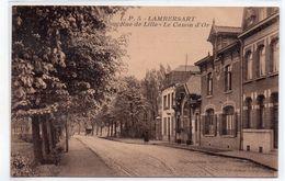 CPA - LAMBERSART - RUE DE LILLE - LE CANON D'OR - Sépia - Vers 1930 - - Lambersart