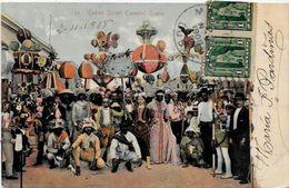 CPA Cuba Circulé Métier Carnaval - Cartes Postales