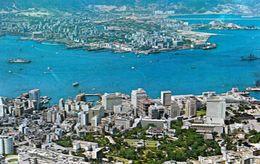 1 AK Hongkong * Blick Auf Hongkong - Luftbildaufnahme * - China (Hongkong)