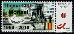 Belgie - 4182** - Mortsel - Thema Club Mortsel 1966-2016 - België
