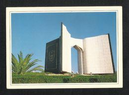 Saudi Arabia Picture Postcard King Saud University Gate Riyadh View Card - Saudi Arabia
