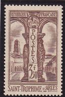 V/Verso ** N° 302 Neuf ** 1935 - - France