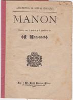 PORTUGAL OPERA - MANON - Livres, BD, Revues