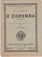 PORTUGAL TEATRO - O ZABUMBA - Livres, BD, Revues