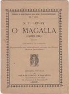 PORTUGAL TEATRO - O MAGALLA - Books, Magazines, Comics