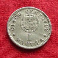 Angola  1 Macuta 1927 #1 - Angola