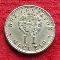 Angola  2 Macuta 1927 #1 - Angola