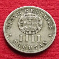 Angola  4 Macuta 1928  #1 - Angola