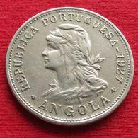 Angola  50 Centavos 1927  #1 - Angola