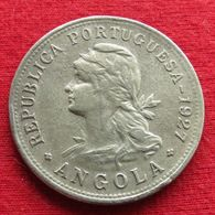 Angola  50 Centavos 1927  #2 - Angola