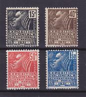 V/Verso ** N° 270-271-272-273 Neuf ** -1930/1931 - - France