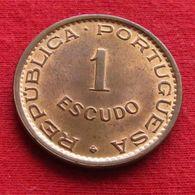 Angola 1 Escudo 1974 Wºº - Angola