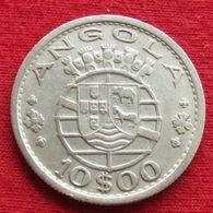 Angola 10 Escudo 1955 Wºº - Angola