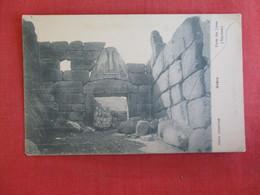 Porte Des Lions   Greece  -  ---Ref  2884 - Greece