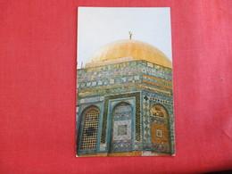 Jerusalem Jordan The Dome Of The Rock   Has Stamp & Cancel  Ref  2884 - Jordan