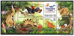 Malaysia 1996 Birds Mammals Butterflies1bl MNH** - Malaysia (1964-...)