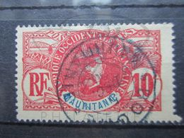 """VEND TIMBRE DE MAURITANIE N° 5 , OBLITERATION """" BOGHE """" !!! - Used Stamps"""