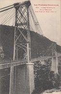 Cp , 66 , LA CERDAGNE , Ligne électrique , Une Pile Du Pont Gisclar - Francia