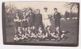 26435 Photo Equipe Football Enfant Ecole -1929 Henault Loheac Yabir Maugendre Moureau Lubert Dugué Seulo Riot - Sports