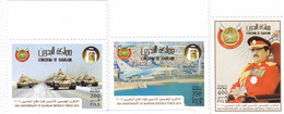 Bahrain New Issue 2018,50th Ann Army Forces 4 Stamps Compl.set MNH -SKRILL PAY ONLY - Bahrain (1965-...)