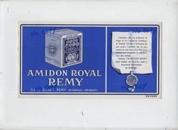 Leuven : Fabrieken AMIDON Royal Remy Wijgmaal  : Vloeipapier ( Formaat 24 X 12.5  Cm )  NOT USED - Buvards, Protège-cahiers Illustrés