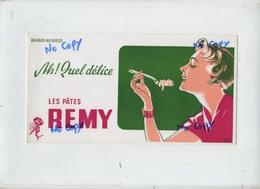 Leuven : Fabrieken LES PATES  Remy Wijgmaal  : Vloeipapier ( Formaat 24 X 12.5  Cm )  NOT USED - Buvards, Protège-cahiers Illustrés
