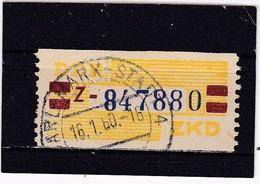 DDR, Dienst: ZKD Nr.25-Z, Gest. (T 2894) - Official