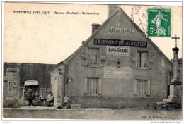 FONTAINE SOUS JOUY Maison  Monthulé Restaurateur Edit E Barbier Evreux - France