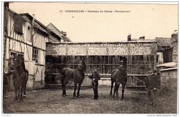 CORMEILLES Chevaux Du Haras Percherons  Imp Boulanger Cormeilles - Autres Communes
