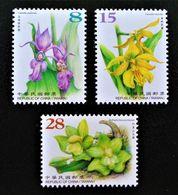 ORCHIDEES SAUVAGES 2017 - NEUFS ** - YT 3889/91 - 1945-... République De Chine